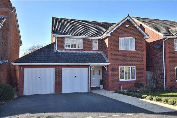 4 Bedrooms Detached House for sale in Barrington Avenue, The Reddings, CHELTENHAM, Gloucestershire, GL51 6TY