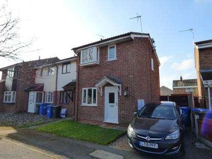 2 Bedrooms End Of Terrace House for sale in Kestrels Croft, Sinfin, Derby, Derbyshire