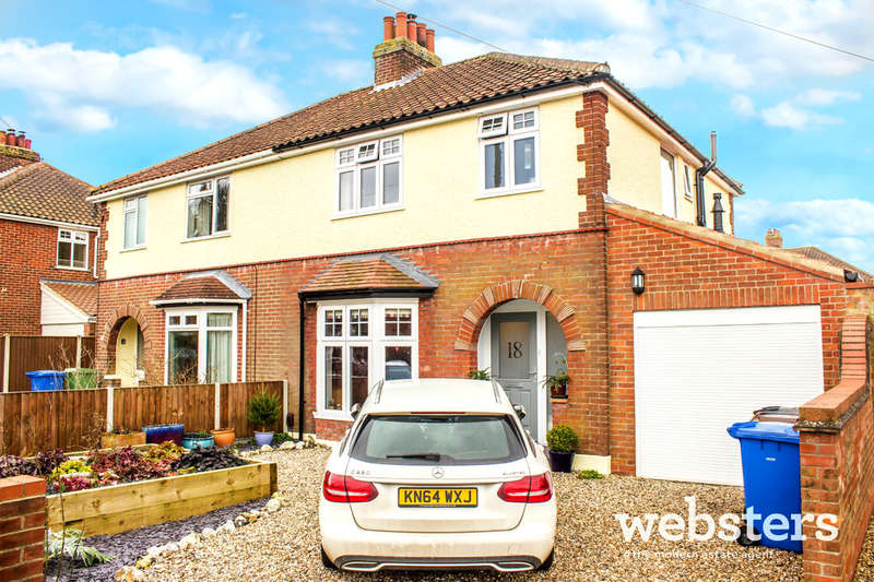 3 Bedrooms Semi Detached House for sale in Aurania Avenue, Norwich NR1