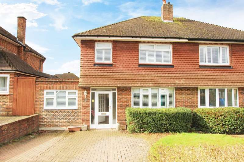 3 Bedrooms Semi Detached House for sale in Raisins Hill, Pinner