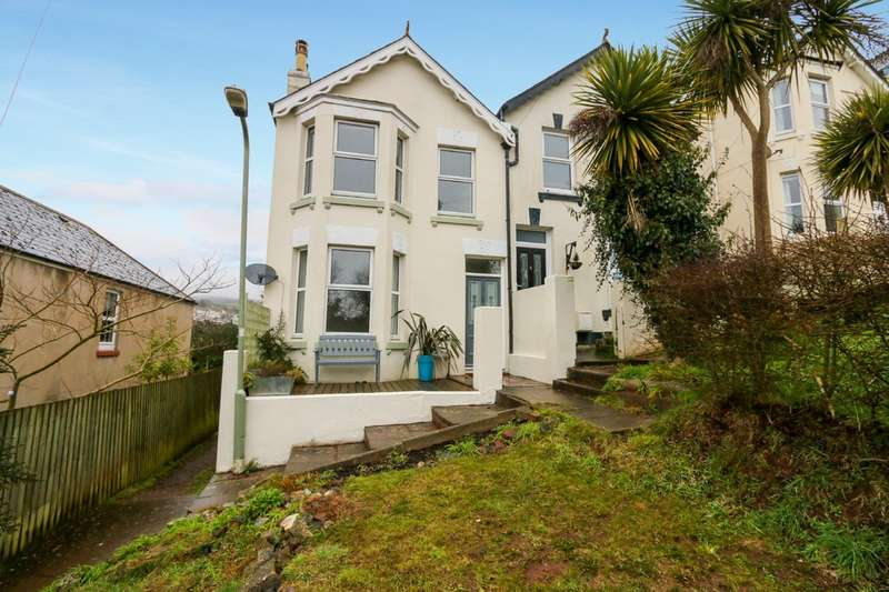 3 Bedrooms Semi Detached House for sale in Coombe Avenue, Teignmouth