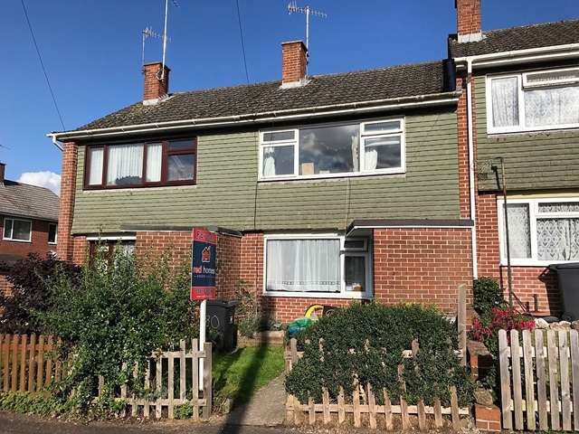 3 Bedrooms Terraced House for sale in Whitebridges, Honiton