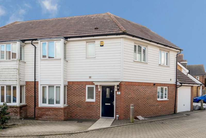4 Bedrooms Semi Detached House for sale in Leslie Gilbert Lane, Repton Park, Ashford TN23