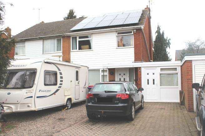 3 Bedrooms Semi Detached House for sale in 15 Meadow View Road, Newport, Shropshire, TF10 7NL