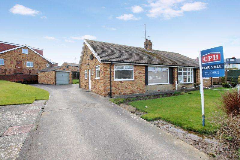 2 Bedrooms Semi Detached Bungalow for sale in Kingsway, Newby, Scarborough