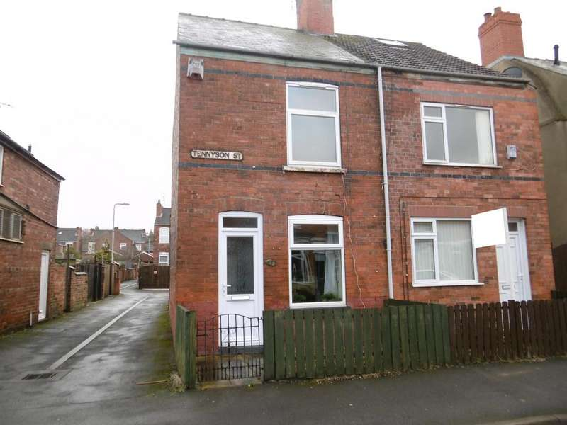 2 Bedrooms Terraced House for sale in Tennyson Street, Gainsborough, DN21 2JG