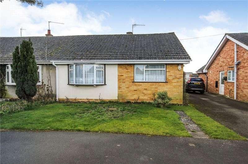 2 Bedrooms Semi Detached Bungalow for sale in Babylon Lane, Bishampton, Pershore, Worcestershire, WR10