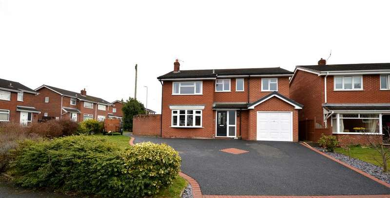 4 Bedrooms Detached House for sale in Asquith Close, Haslington, Crewe
