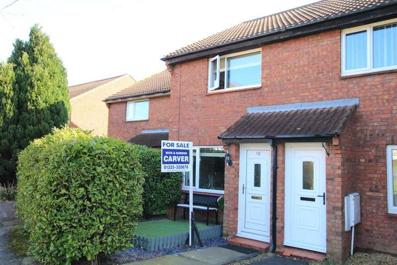 2 Bedrooms Semi Detached House for sale in Bluebell Meadow, Newton Aycliffe