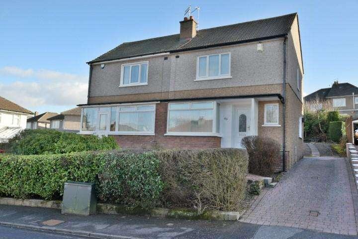 2 Bedrooms Semi Detached House for sale in 65 Rowan Drive, Bearsden, G61 3HH