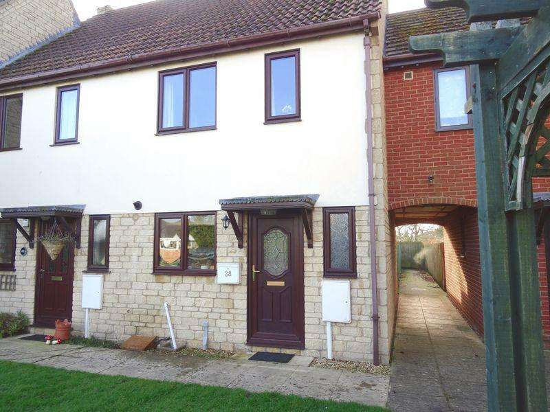 2 Bedrooms Terraced House for sale in Stephens Way, Peterborough