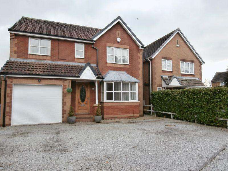 4 Bedrooms Detached House for sale in Waterland Close, Hedon