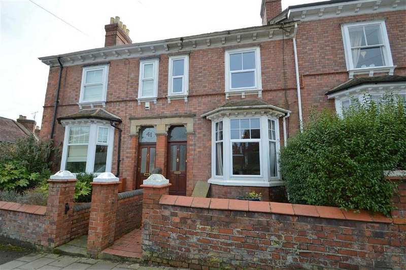 4 Bedrooms Terraced House for sale in Copthorne Road, Shrewsbury