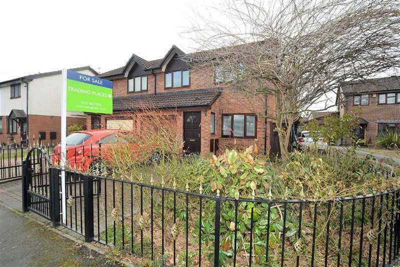 3 Bedrooms Semi Detached House for sale in Rennie Close, STRETFORD