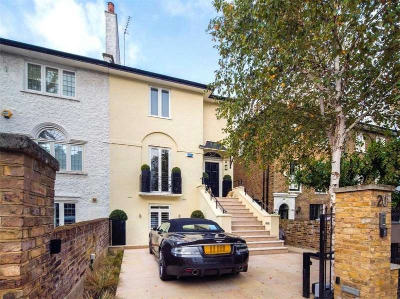 4 Bedrooms House for sale in Hill Road, St John's Wood, London, NW8