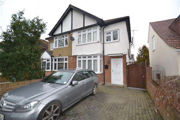 3 Bedrooms Semi Detached House for sale in The Drive, Feltham