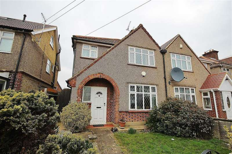 3 Bedrooms Semi Detached House for sale in Wimborne Avenue, Hayes, UB4 0HG
