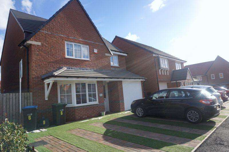 4 Bedrooms Detached House for sale in Woodward Road, Spennymoor