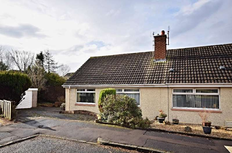 2 Bedrooms Semi Detached Bungalow for sale in Chestnut Road, Ayr, South Ayrshire, KA7 3NT