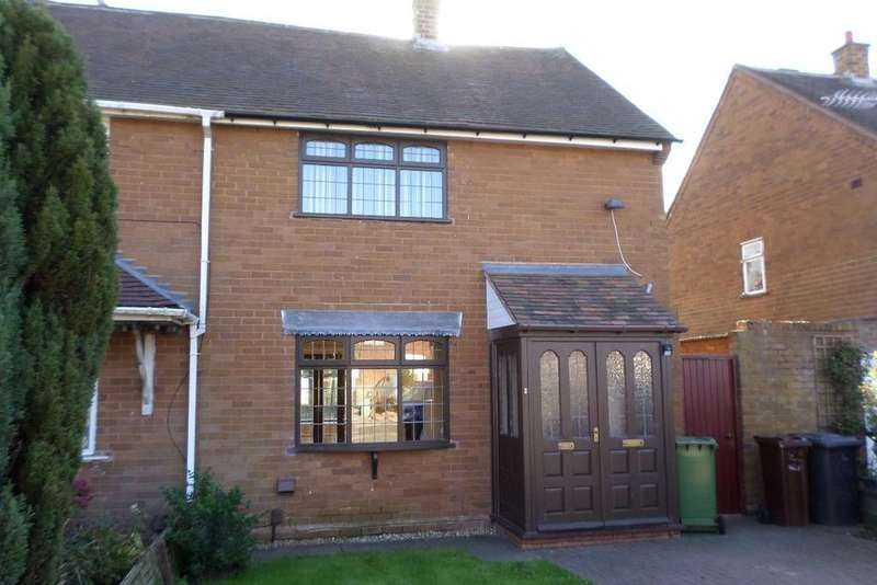 2 Bedrooms Semi Detached House for rent in Brindley Avenue, Wednesfield, WV11