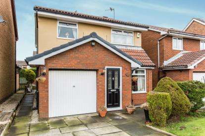 3 Bedrooms Detached House for sale in Brook Meadow, Westhoughton, Bolton, Greater Manchester, BL5