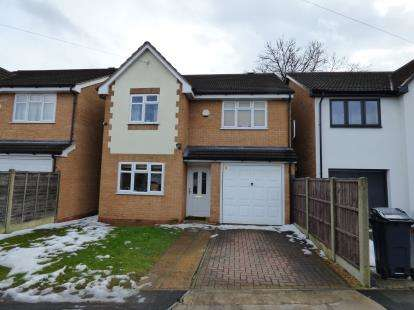 4 Bedrooms Detached House for sale in Hartswell Drive, Birmingham, West Midlands