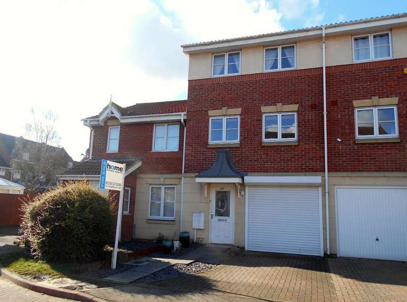3 Bedrooms Town House for sale in Gillespie Close, Bedford, MK42 9JQ