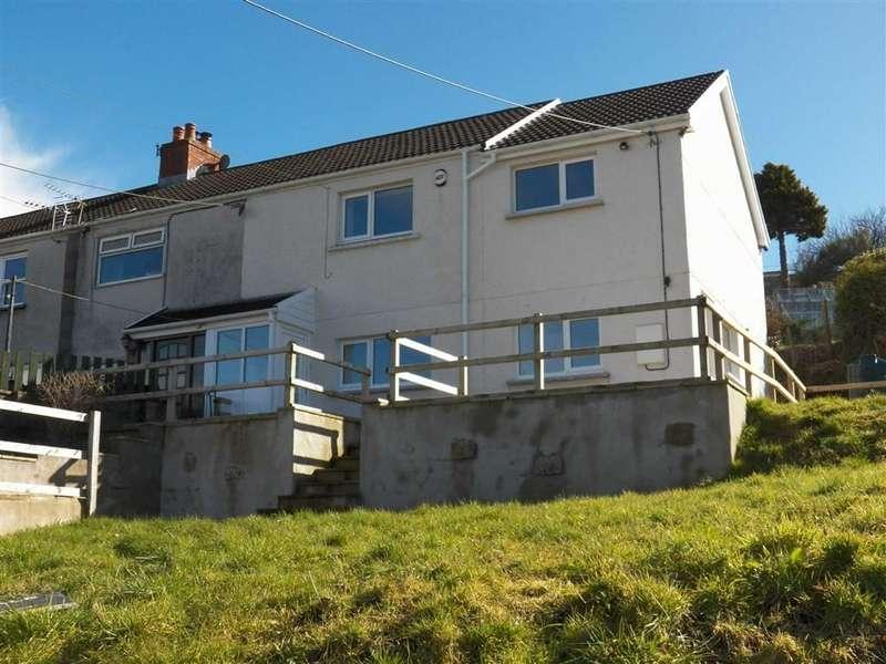 3 Bedrooms End Of Terrace House for sale in Shintor Fach, Mynyddygarreg