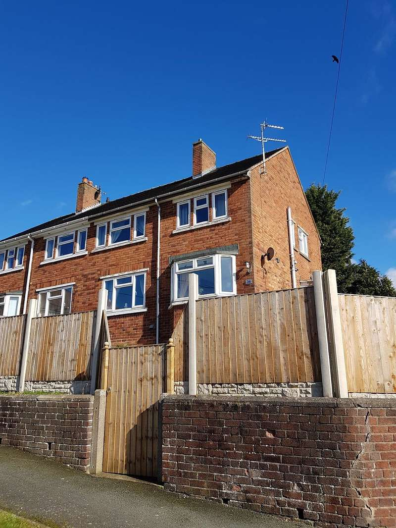 3 Bedrooms Semi Detached House for sale in Bryn Rhedyn, Southsea, Wrexham, Wrecsam, LL11 6PU