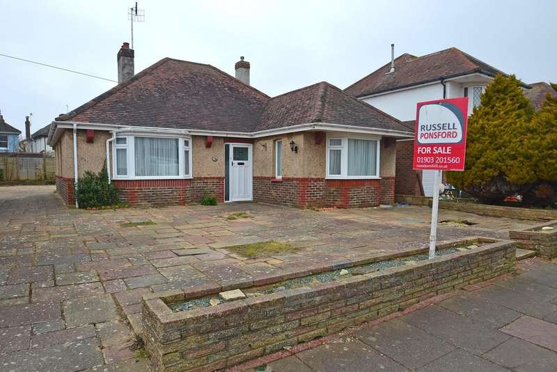 3 Bedrooms Detached Bungalow for sale in Pendine Avenue, Worthing