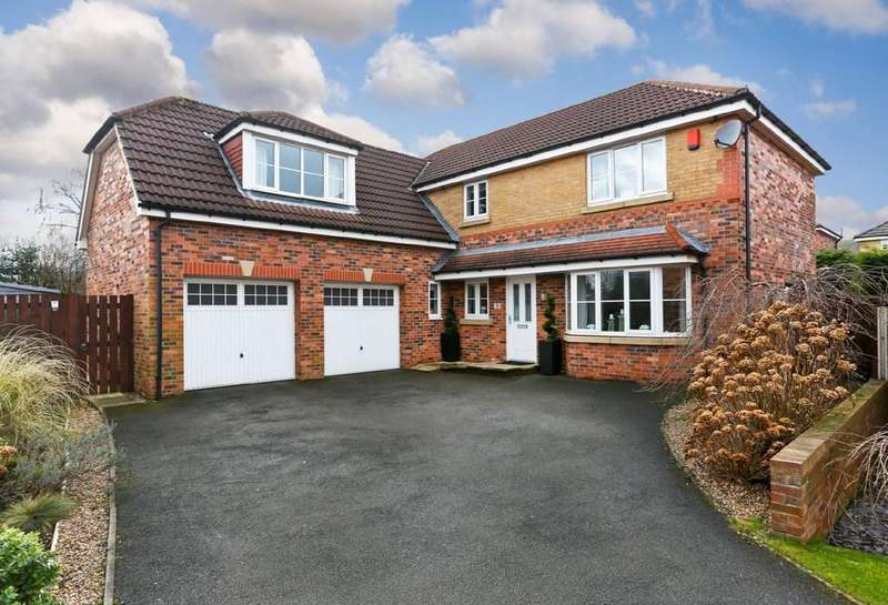 5 Bedrooms Detached House for sale in Turner Close, Ossett