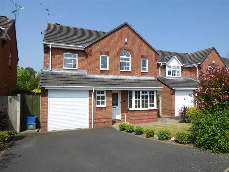 4 Bedrooms Detached House for sale in Stag Drive, Huntington, Staffordshire