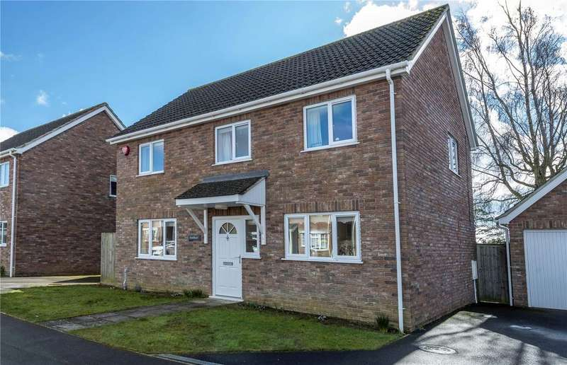 4 Bedrooms Detached House for sale in Coniston Gardens, Yeovil, Somerset