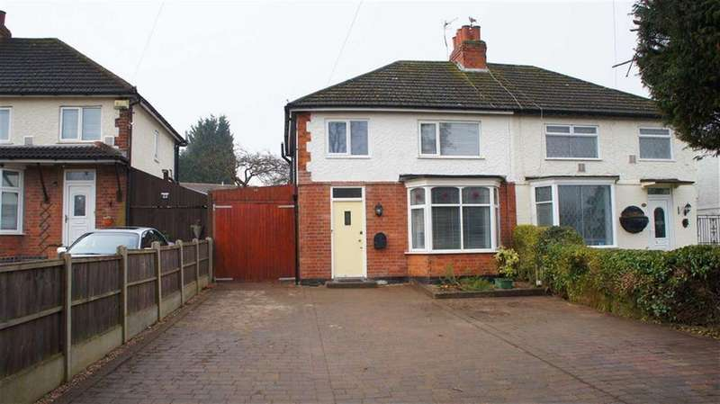 3 Bedrooms Semi Detached House for sale in Ratby Lane, Leicester Forest East