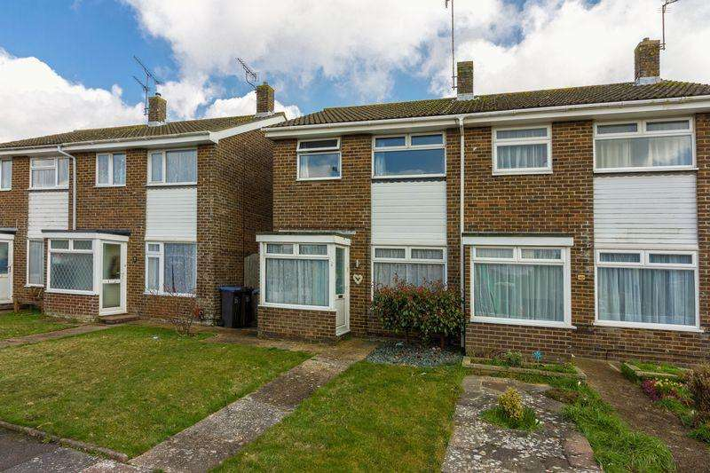 3 Bedrooms Semi Detached House for sale in Chilgrove Close, Goring-by-Sea