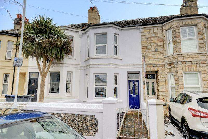 3 Bedrooms Terraced House for sale in Sugden Road, Worthing