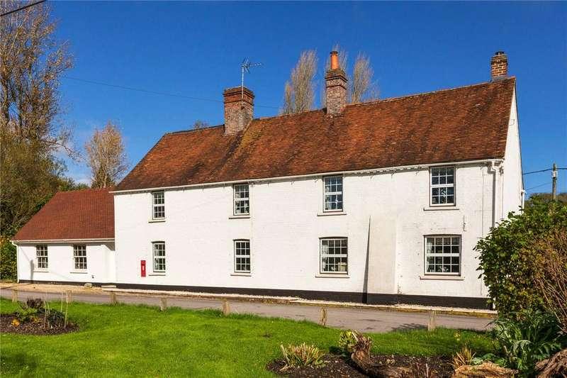 4 Bedrooms Detached House for sale in Bagnor, Newbury, Berkshire, RG20