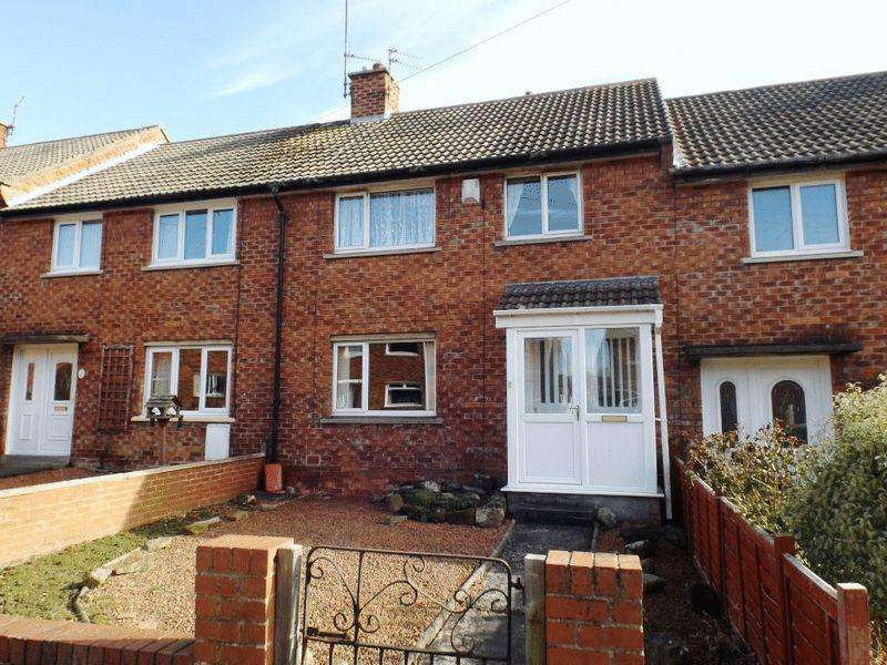 3 Bedrooms Terraced House for sale in Abbots Way, Morpeth