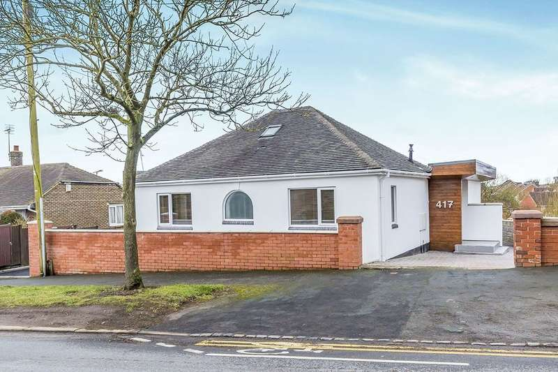 2 Bedrooms Detached Bungalow for sale in Turnhurst Road, Packmoor, Stoke-On-Trent, ST7