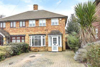 3 Bedrooms Semi Detached House for sale in Orchard Way, Beckenham