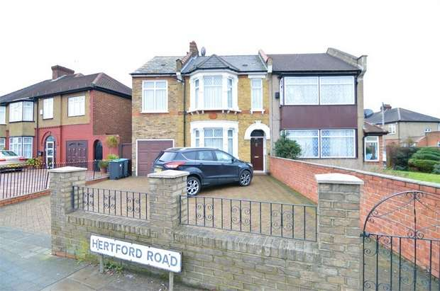 4 Bedrooms Semi Detached House for rent in Hertford Road, ENFIELD, Greater London