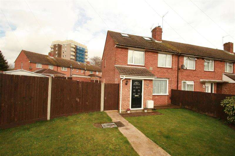 2 Bedrooms End Of Terrace House for sale in Hipley Road, West Leigh, Havant