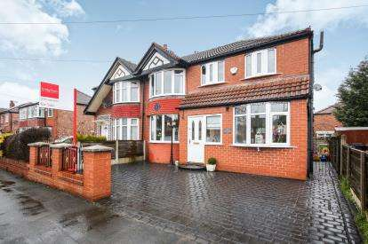 4 Bedrooms Semi Detached House for sale in Councillor Lane, Cheadle, Greater Manchester