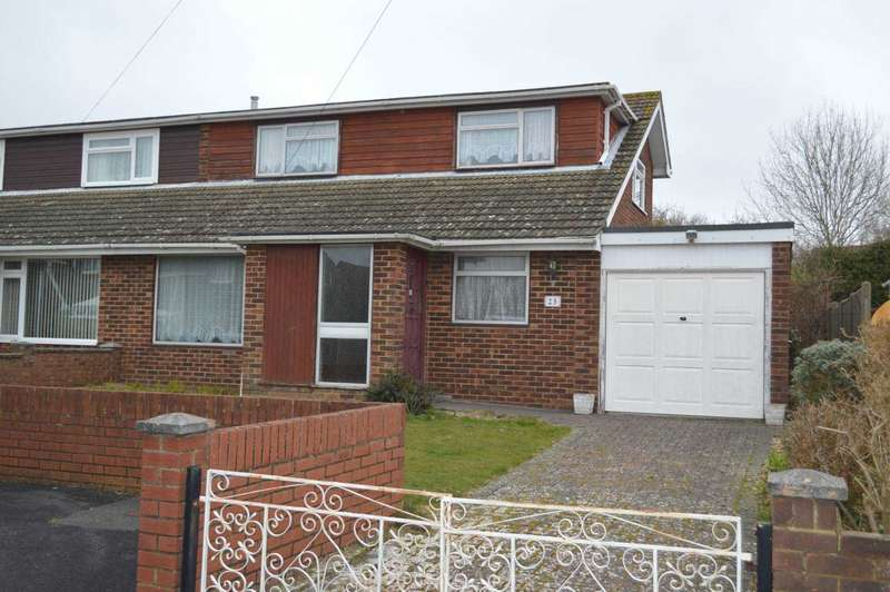 3 Bedrooms Semi Detached House for sale in Ashdown, Rowner