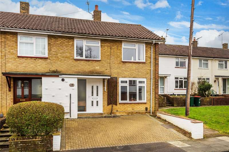 3 Bedrooms End Of Terrace House for sale in Baker Close, Crawley, West Sussex, RH10