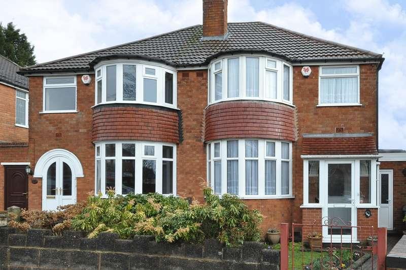 3 Bedrooms Semi Detached House for sale in Cherington Road, Birmingham, B29