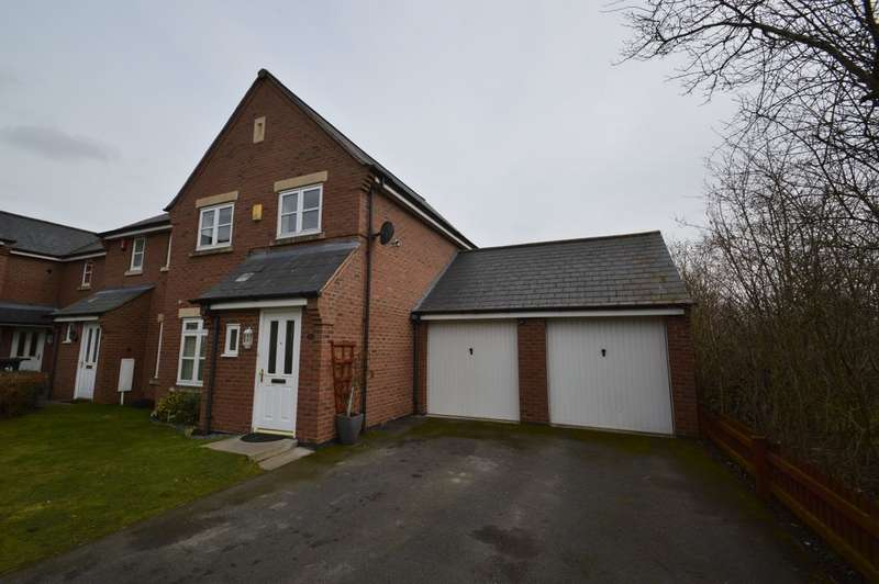 3 Bedrooms Property for sale in Beddow Close, Shrewsbury SY1