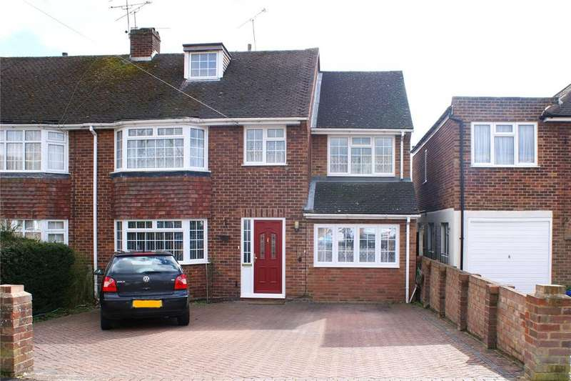 5 Bedrooms Semi Detached House for sale in Glendevon Road, Woodley, Reading, Berkshire, RG5