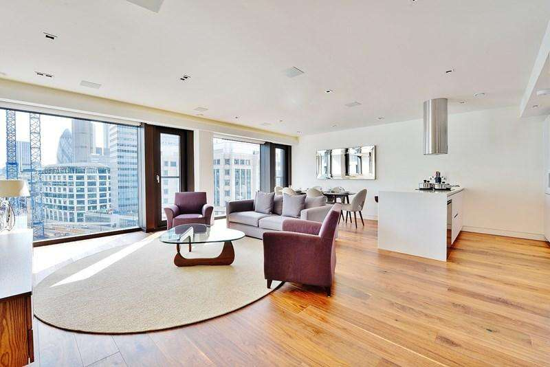 3 Bedrooms Apartment Flat for sale in Roman House, Wood Street, The City