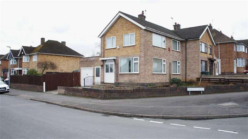 3 Bedrooms Semi Detached House for sale in Ambergate Drive, Birstall